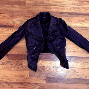 Cut 25 (Yigal Azrouel) Asymmetrical Leather Jacket